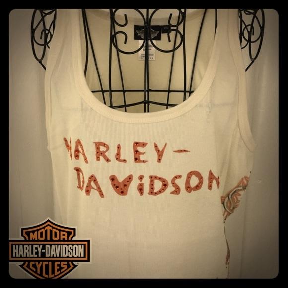 Harley-Davidson Tops - HARLEY DAVIDSON TANK TOP